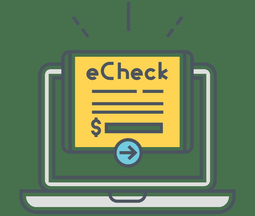 Top 5 eChecks Mobiilikasinos 2021 -Low Fee Deposits
