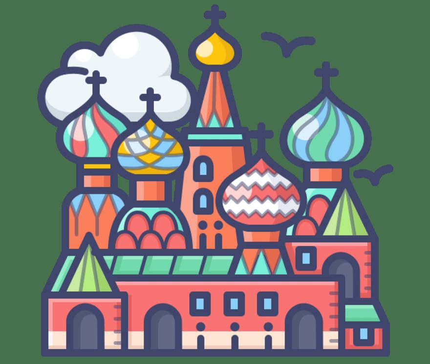 Parhaat 66 Mobiilikasino -peliä luokassa Venäjä 2021
