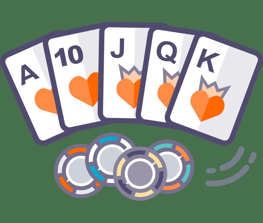 Pelaa Texas Holdem verkossa -Suosituimmat 48 eniten maksavaa Mobiilikasinoä 2021