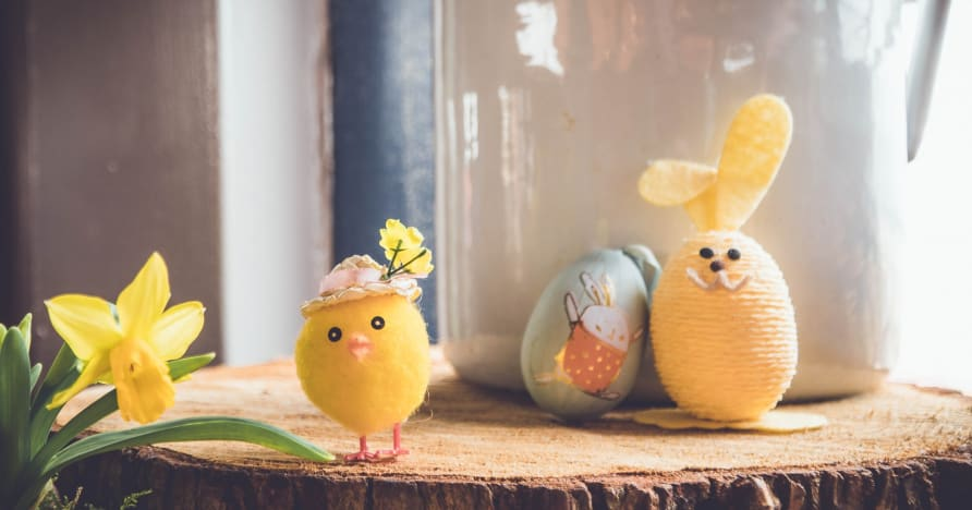 Yggdrasil toivottaa pääsiäislomat tervetulleeksi pääsiäissaarelle 2